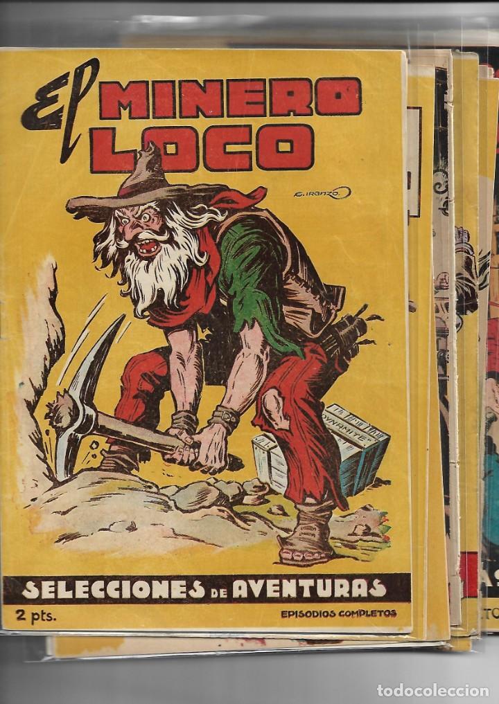Tebeos: Selección de Aventuras, Año 1950. Colección Completa son 19. Tebeos con el Almanaque son Originales - Foto 2 - 139383194