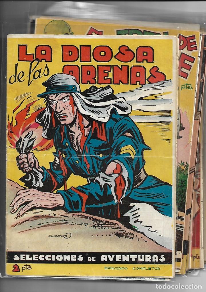 Tebeos: Selección de Aventuras, Año 1950. Colección Completa son 19. Tebeos con el Almanaque son Originales - Foto 3 - 139383194