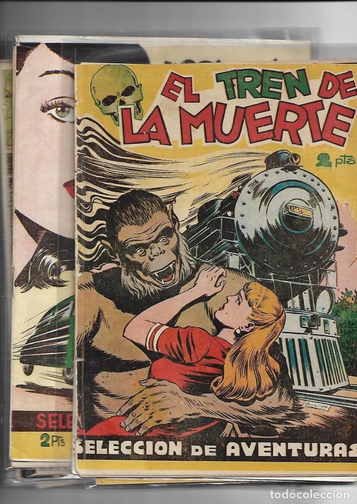 Tebeos: Selección de Aventuras, Año 1950. Colección Completa son 19. Tebeos con el Almanaque son Originales - Foto 4 - 139383194