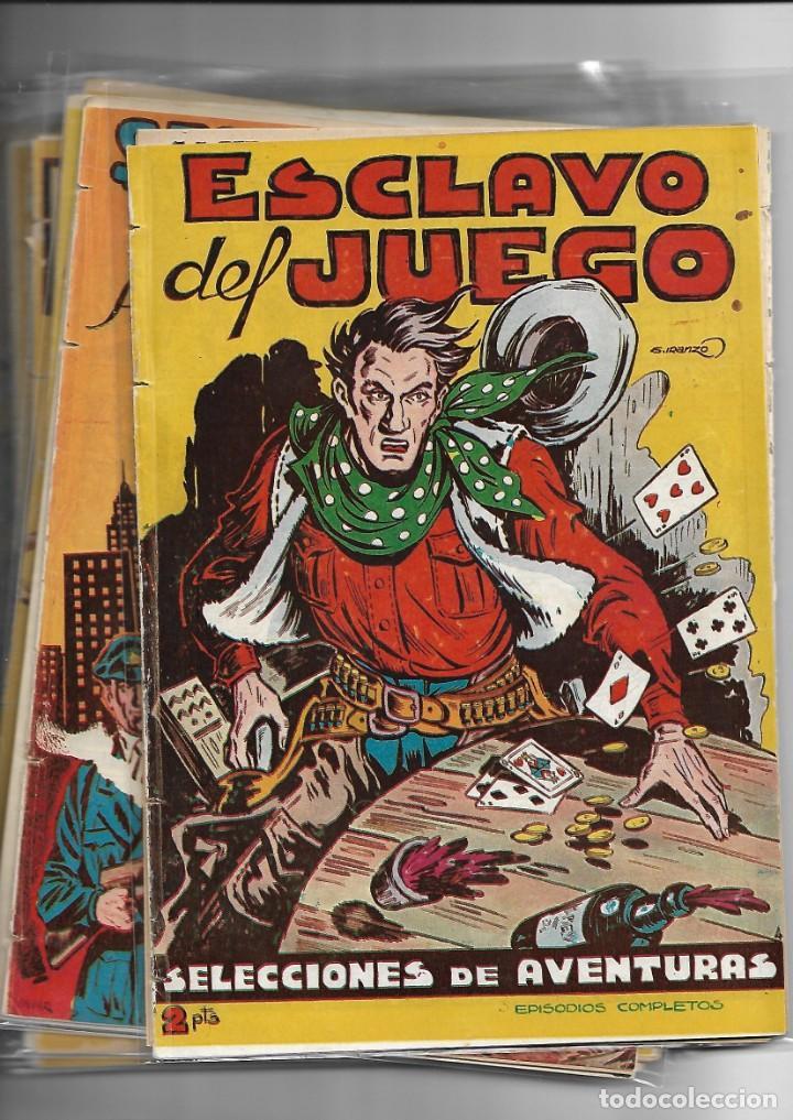 Tebeos: Selección de Aventuras, Año 1950. Colección Completa son 19. Tebeos con el Almanaque son Originales - Foto 5 - 139383194