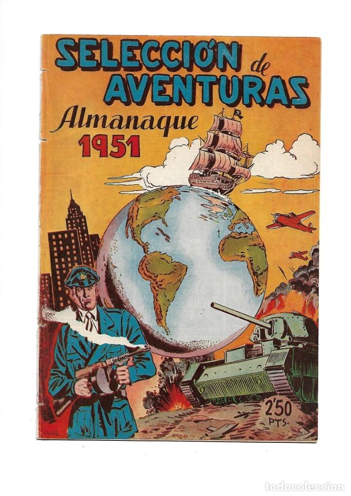 Tebeos: Selección de Aventuras, Año 1950. Colección Completa son 19. Tebeos con el Almanaque son Originales - Foto 6 - 139383194