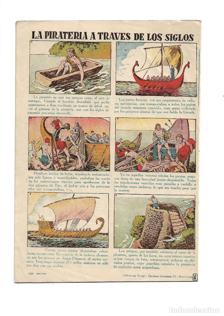 Tebeos: Selección de Aventuras, Año 1950. Colección Completa son 19. Tebeos con el Almanaque son Originales - Foto 9 - 139383194