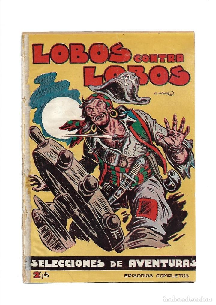 Tebeos: Selección de Aventuras, Año 1950. Colección Completa son 19. Tebeos con el Almanaque son Originales - Foto 10 - 139383194