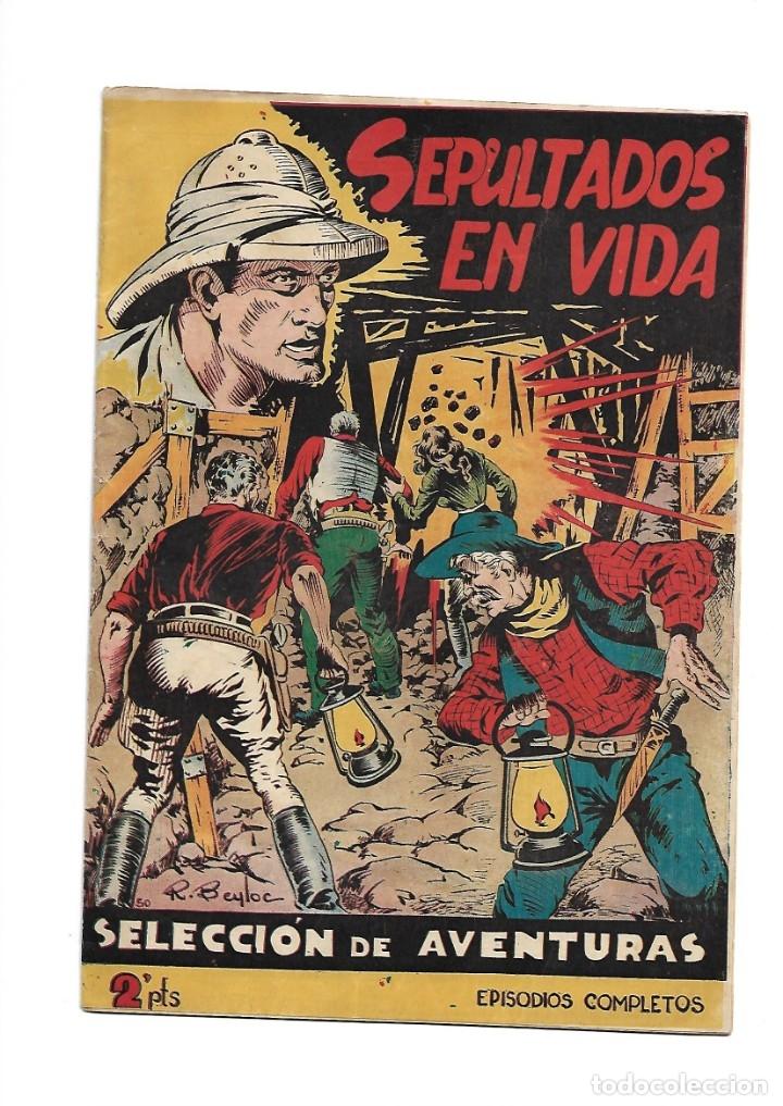 Tebeos: Selección de Aventuras, Año 1950. Colección Completa son 19. Tebeos con el Almanaque son Originales - Foto 22 - 139383194