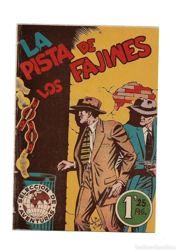 Tebeos: Selección de Aventuras, Año 1950. Colección Completa son 19. Tebeos con el Almanaque son Originales - Foto 36 - 139383194