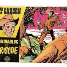 Tebeos: KIT CARSON, AÑO 1.958. COLECCIÓN COMPLETA SON 6. TEBEOS ORIGINALES DIBUJADA POR LOS HERMANOS BADÍA.. Lote 139490102