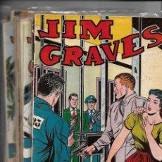 Tebeos: JIM GRAVES, SELECCIÓN DE AVENTURAS, AÑO 1.954. COLECCIÓN COMPLETA SON 32. TEBEOS ORIGINALES NUEVOS.. Lote 139495690
