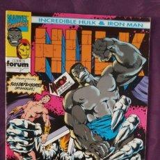 Tebeos: INCREIBLE HULK & IRON MAN, MARVEL COMICS Nº 2. Lote 139625562