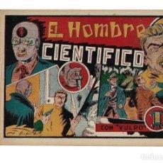 Tebeos: VULPO EL HOMBRE CIENTIFICO AÑO 1948 COLECCIÓN COMPLETA SON 6 TEBEOS ORIGINALES NUEVOS NUNCA USADOS. Lote 139684530