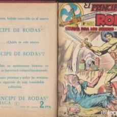 Tebeos: EL PRÍNCIPE DE RODAS. MAGA 1960. 26 EJEMPLARES DEL 1 AL 26 ENCUADERNADOS EN TOMO LUJO PRÁCTICAMENTE. Lote 139841142