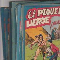 Tebeos: EL PEQUEÑO HÉROE. MAGA 1956. LOTE DE 40 EJEMPLARES. Lote 139842944
