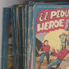Tebeos: EL PEQUEÑO HÉROE. MAGA 1956. LOTE DE 53 EJEMPLARES. Lote 139842948
