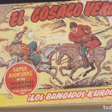 Tebeos: EL COSACO VERDE. BRUGUERA 1960. COMPLETA 144 EJEMPLARES CONSERVACIÓN: NORMAL A BUENO. 4 EJEMPLARES P. Lote 139843680