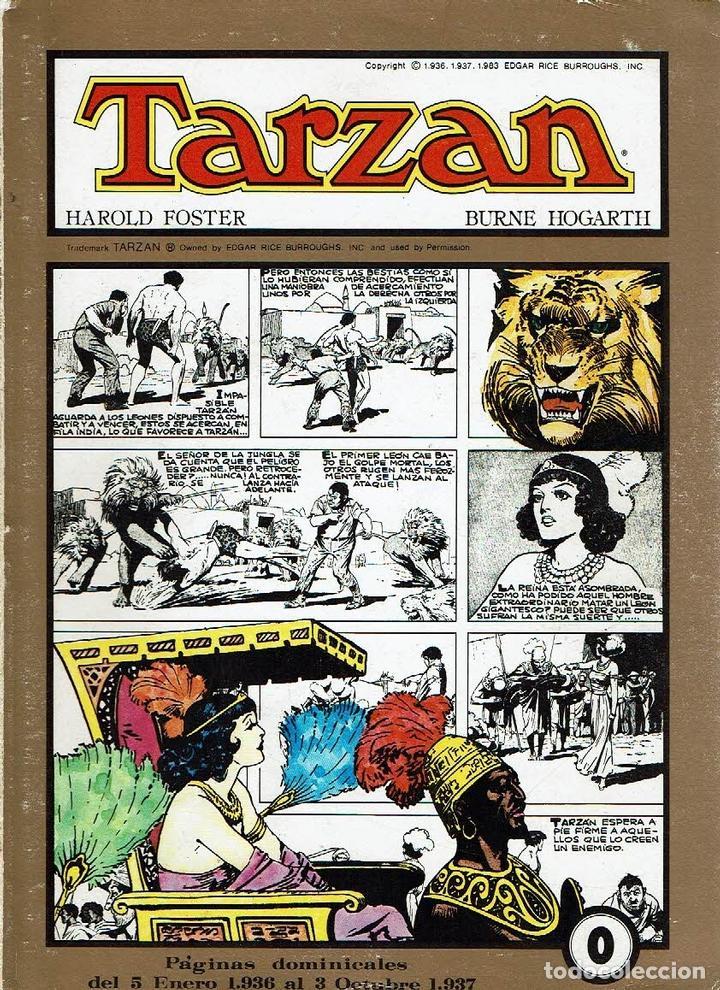 TARZÁN. COLECCIÓN COMPLETA. 8 NÚMEROS. - BURROUGHS - HOGARTH. (Tebeos y Comics - Tebeos Colecciones y Lotes Avanzados)