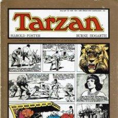 Tebeos: TARZÁN. COLECCIÓN COMPLETA. 8 NÚMEROS. - BURROUGHS - HOGARTH.. Lote 139951645
