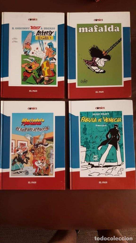 Tebeos: 35 TOMOS de cómics PUBLICADOS POR EL PAÍS - COLECCIÓN COMPLETA (VER FOTOS) - Foto 2 - 153158068