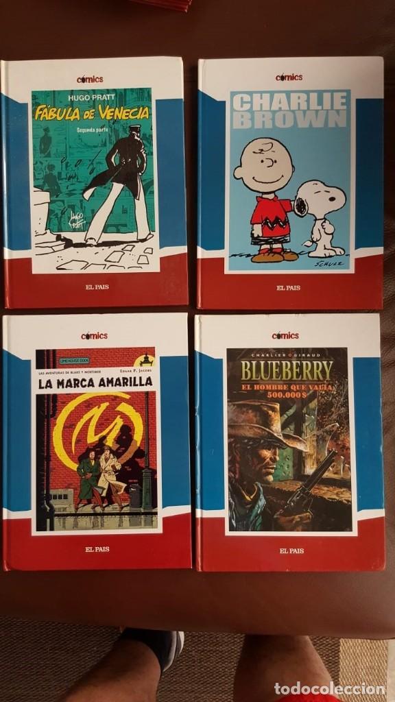 Tebeos: 35 TOMOS de cómics PUBLICADOS POR EL PAÍS - COLECCIÓN COMPLETA (VER FOTOS) - Foto 3 - 153158068