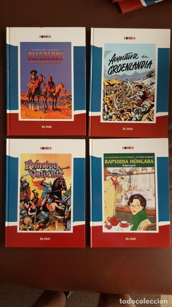 Tebeos: 35 TOMOS de cómics PUBLICADOS POR EL PAÍS - COLECCIÓN COMPLETA (VER FOTOS) - Foto 4 - 153158068