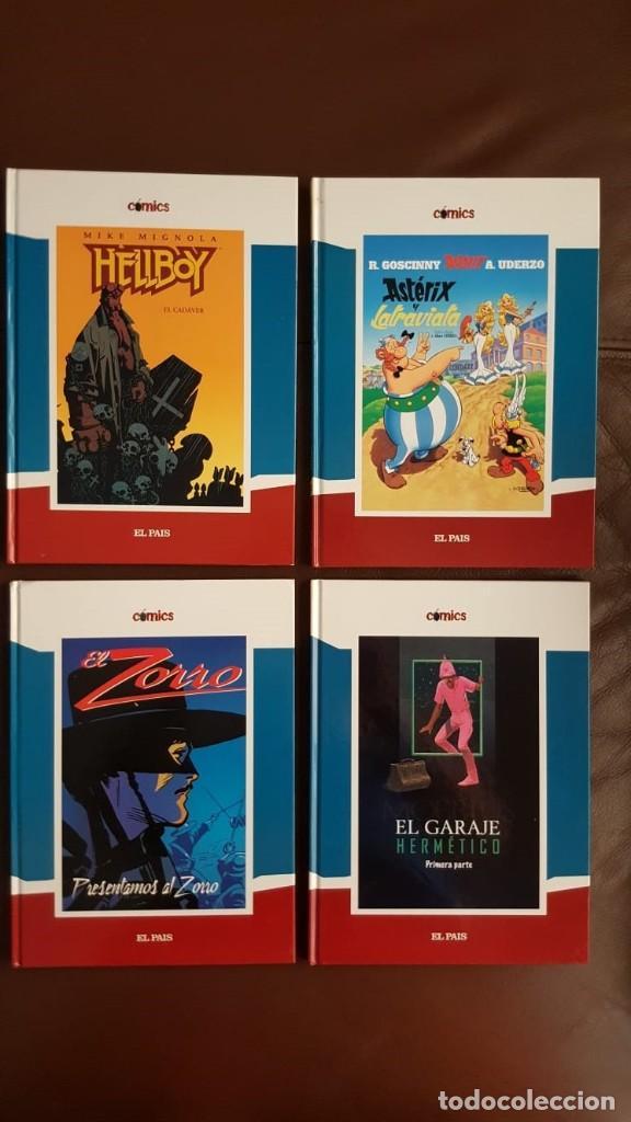Tebeos: 35 TOMOS de cómics PUBLICADOS POR EL PAÍS - COLECCIÓN COMPLETA (VER FOTOS) - Foto 7 - 153158068