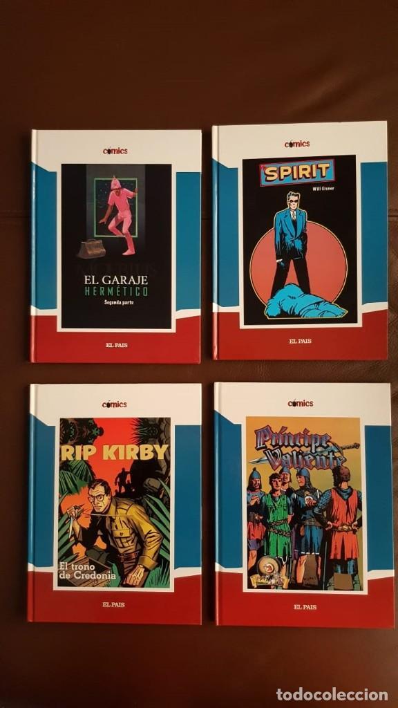 Tebeos: 35 TOMOS de cómics PUBLICADOS POR EL PAÍS - COLECCIÓN COMPLETA (VER FOTOS) - Foto 8 - 153158068