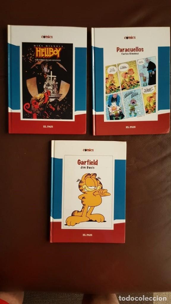 Tebeos: 35 TOMOS de cómics PUBLICADOS POR EL PAÍS - COLECCIÓN COMPLETA (VER FOTOS) - Foto 10 - 153158068