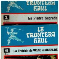 Tebeos: LA FRONTERA AZUL.COLECCIÓN DE 8 NºS.AQUÍ LOTE DE 5 NºS.-1,2,3,4 Y 6. ASR,1978.. Lote 140325058