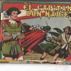 Tebeos: EL CAPITÁN DON NADIE, AÑO 1.952. COLECCIÓN COMPLETA SON 19. TEBEOS ORIGINALES DIBUJOS J. ORTÍZ. Lote 140348738