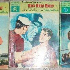 Tebeos: BIG BEN BOLT (VERDE) (DOLAR) LOTE DE 3 NUMEROS. Lote 140384790