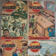 Tebeos: EL TENIENTE NEGRO (BRUGUERA) LOTE DE 4 NUMEROS. Lote 140442382