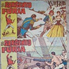 Tebeos: EL SARGENTO FURIA (BRUGUERA) LOTE DE 3 NUMEROS. Lote 140507330