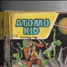 Tebeos: ÁTOMO KID, AÑO 1.957. COLECCIÓN COMPLETA SON 16. TEBEOS ORIGINALES DIBUJOS DE BAYO EDITORIAL TORAY. Lote 140669782