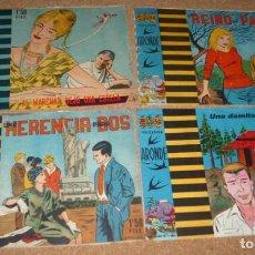 Tebeos: ARONDE COMPLETA- BELKRON 1961- UNA COLECCIÓN MUY RARA. Lote 140796062