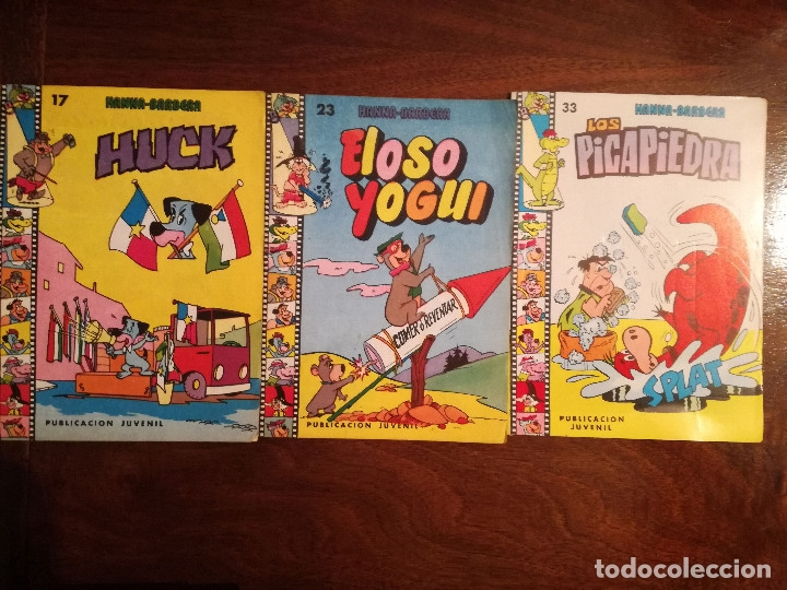 Tebeos: Hanna-Barbera 9 cuentos de Ediprint los Picapiedra-Huck-Wally Gator nº 5-17-23-33-27-32-34-35-36 nue - Foto 4 - 50382529
