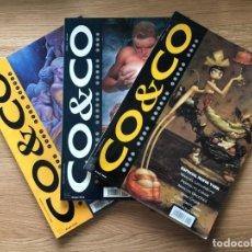 Tebeos: CO & CO, NUMEROS 1, 2 Y 3, ED GRUPO ZETA.. Lote 141033034