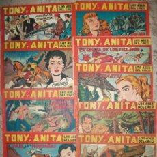 Tebeos: TONY Y ANITA (MAGA) LOTE DE 11 NUMEROS. Lote 141779350