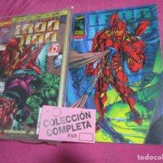 Tebeos: IRON MAN HEROES REBORN 12 COMPLETA . FORUM. EXCELENTE ESTADO.. Lote 142107198