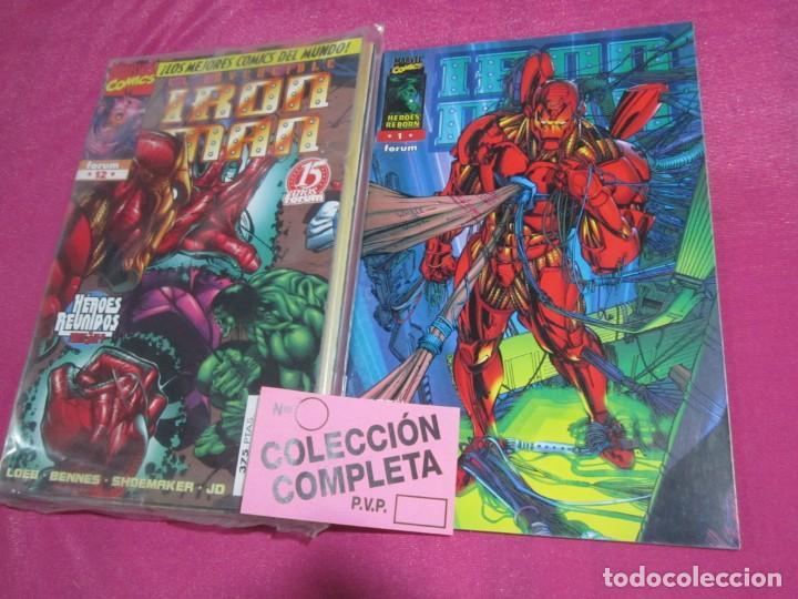 Tebeos: IRON MAN HEROES REBORN 12 COMPLETA . FORUM. EXCELENTE ESTADO. - Foto 3 - 142107198