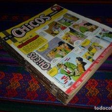 BDs: CHICOS EXTRAORDINARIO NºS 37 AL 69 Y ÚLTIMO. EDITORIAL CID 1955. 1,50 PTS. RAROS.. Lote 142449406