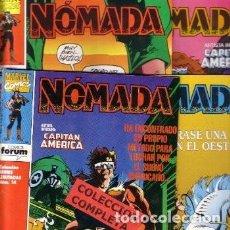 Tebeos: NOMADA 4 COMPLETA FORUM. EXCELENTE ESTADO. Lote 142469174
