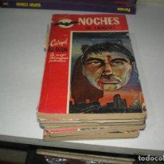 Tebeos: LOTE DE NOVELAS NOCHES. Lote 143156494