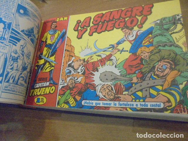 EL CAPITAN TRUENO COMPLETA 618 NUMS. EN 13 TOMOS ENCUADERNADOS - EDICIONES B (Tebeos y Comics - Tebeos Colecciones y Lotes Avanzados)