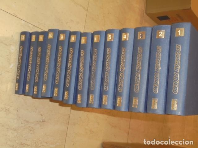 Tebeos: EL CAPITAN TRUENO COMPLETA 618 NUMS. EN 13 TOMOS ENCUADERNADOS - EDICIONES B - Foto 3 - 143724206