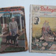 Livros de Banda Desenhada: LOTE 6 TEBEOS VARIOS, TARZAN, PELAYOS, DDT, DICK NORTON. Lote 143774930