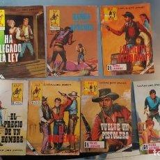 Tebeos: COMICS INDÓMITO OESTE - GRAN OESTE (1974), 7 COMICS TIPO TACO DE 64 PG. VER NºS. Lote 143788734