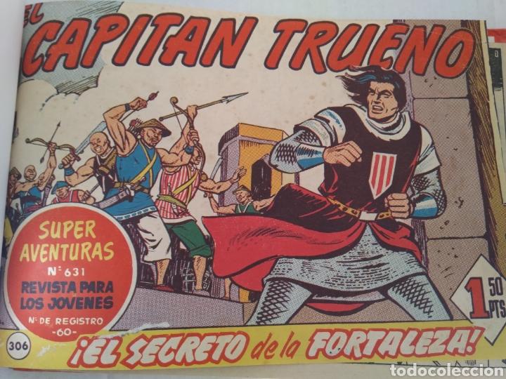 CAPITAN TRUENO LOTE 15 TEBEOS (Tebeos y Comics - Tebeos Pequeños Lotes de Conjunto)