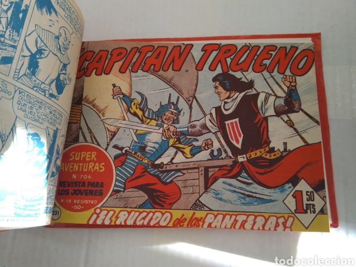 Tebeos: CAPITAN TRUENO LOTE 15 TEBEOS - Foto 2 - 143941002