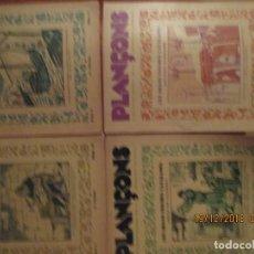 Tebeos: PLANÇONS -LOTE DE 4 (DEL 9 AL 12). Lote 144165306
