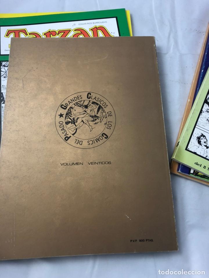 Tebeos: Coleccion completa. Tarzan 8 numeros. Harold Foster - Burne Hogarth. - Foto 2 - 144725929