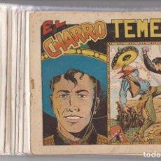 Tebeos: EL CHARRO TEMERARIO. GRAFIDEA 1953. COLECCIÓN A FALTA DE 3 EJEMPLARES: 29, 30 Y 44. Lote 144981541