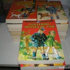 Livros de Banda Desenhada: LOTE DE 21 NOVELAS DE LAS AVENTURAS DE GUILLERMO. Lote 145819838